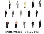 vector illustration of... | Shutterstock .eps vector #74129143