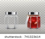 a set of vector illustrations... | Shutterstock .eps vector #741323614