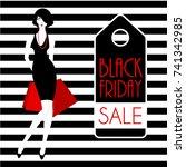 Black Friday Poster Design Wit...