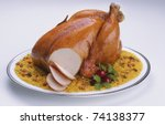 Oven Roasted Chicken With Frie...