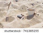 Enameled Mug With Clean...