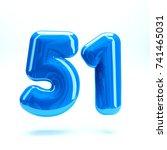 blue glossy celebrate letter... | Shutterstock . vector #741465031