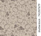 seamless background pattern... | Shutterstock .eps vector #741507679