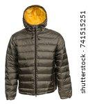 sports jacket on white...   Shutterstock . vector #741515251