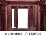 Open Old Wooden Door  Copy...