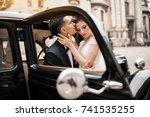 wedding couple | Shutterstock . vector #741535255