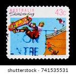 moscow  russia   october 3 ...   Shutterstock . vector #741535531