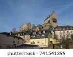 Medieval Castle In Larochette...