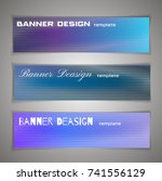colorful halftone abstract...   Shutterstock .eps vector #741556129