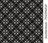 minimalist seamless pattern... | Shutterstock .eps vector #741596419