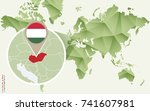infographic for hungary ...   Shutterstock .eps vector #741607981
