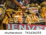 traditional food to take away | Shutterstock . vector #741636355