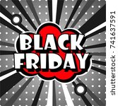 special offer banner with the ... | Shutterstock .eps vector #741637591