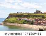 whitby bay | Shutterstock . vector #741669451