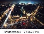 night city | Shutterstock . vector #741673441
