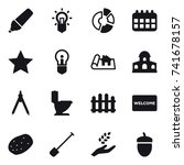 16 vector icon set   marker ...