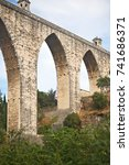 Small photo of The Aguas Livres Aqueduct in Lisbon.