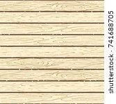 seamless wood planks pattern.... | Shutterstock .eps vector #741688705