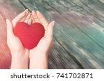 hand. | Shutterstock . vector #741702871