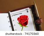 Mother's Day Diary Date In A...