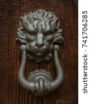 knockers of rome | Shutterstock . vector #741706285
