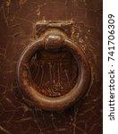 knockers of rome | Shutterstock . vector #741706309