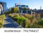 new york  usa   18 october 2017....   Shutterstock . vector #741746617
