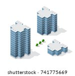 architecture of urban... | Shutterstock . vector #741775669
