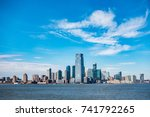 Small photo of Panoramic view of New Jersey City skylines
