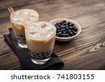 Homemade Milk Bubble Tea With...
