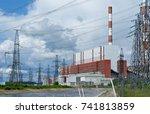 russia  perm   june 12  2015 ... | Shutterstock . vector #741813859