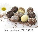 Assortment Of Chocolate Eggs O...