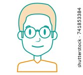 young man avatar character | Shutterstock .eps vector #741853384