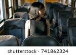 asian woman fashion shoot | Shutterstock . vector #741862324