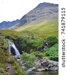 A Beautiful Waterfall Of The...