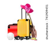 travel concept. card background.... | Shutterstock .eps vector #741909451