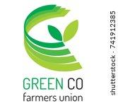 farmers logo agriculture logo  | Shutterstock .eps vector #741912385