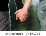 concept shoot of friendship and ...   Shutterstock . vector #74191738