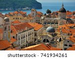 pearl of the adriatic | Shutterstock . vector #741934261