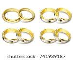 set of vector illustrations of... | Shutterstock .eps vector #741939187