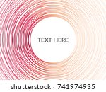 abstract background circles... | Shutterstock .eps vector #741974935
