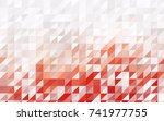 light blue  red vector... | Shutterstock .eps vector #741977755