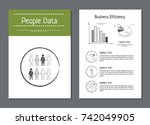 people data and business...   Shutterstock .eps vector #742049905