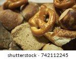 bread basket   Shutterstock . vector #742112245