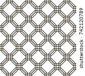 seamless geometric pattern.... | Shutterstock .eps vector #742120789