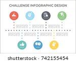 challenge concept   Shutterstock .eps vector #742155454