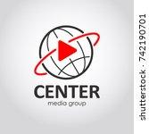 mass media icon. media company... | Shutterstock .eps vector #742190701