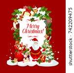 Merry Christmas Greeting Wish...