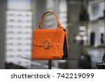 luxury handbags | Shutterstock . vector #742219099