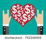 love money | Shutterstock .eps vector #742240405